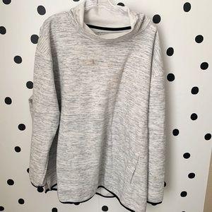 🌈5/$25🌈Tek gear grey/white sweater 3X